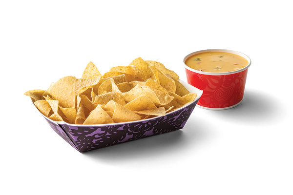 Large Chips & Queso