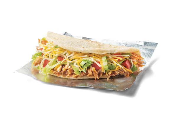 Soft Shredded Chicken Taco