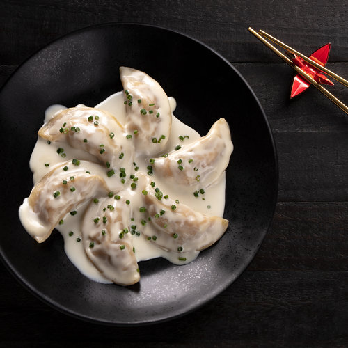 Miso Butter Lobster Dumplings