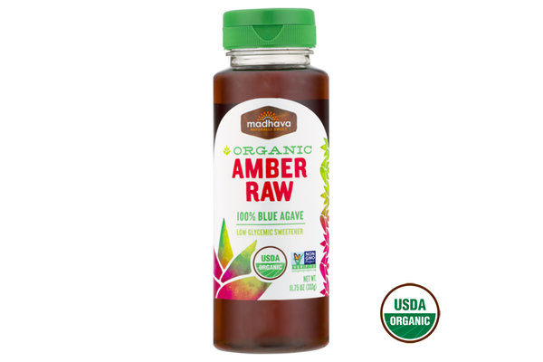 Organic Amber Agave Syrup