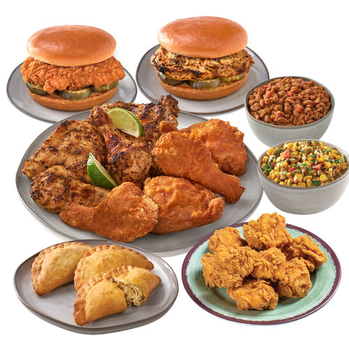 Family Flavor Combo Meal for 4-5 People