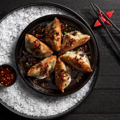 Handmade Pork Dumplings | 6 Count