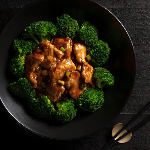 GF Ginger Chicken with Broccoli