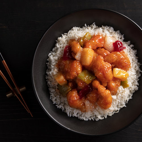 Sweet & Sour Chicken Bowl