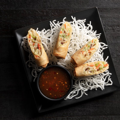 Vegetable Spring Rolls | 2 Count