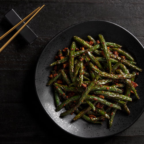 Chili-Garlic Green Beans